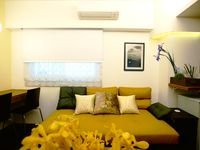 Owner is very friendly and helpful.The MRT station is right in front of the apartment, takes about