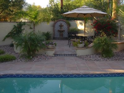 Photo for Mediterranean Feel Throughout W/ Resort Backyard and Heated Pool