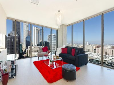 Photo for URBAN DTLA BLACK AND RED PENTHOUSE