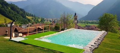 Photo for Holiday house with panoramic pool