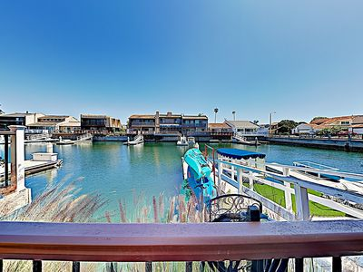 Photo for 3BR on Channel Island Harbor w/ Waterfront Deck, Private Dock & Kayaks