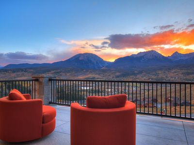 Photo for Stunning new #1 award winning modern Mountain Home. Fully loaded. Spectacular!