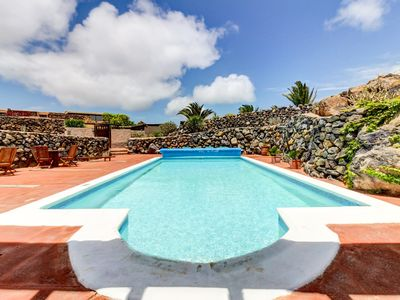 Photo for Mountainside, dog-friendly apartment w/ shared pool & volcanic views!