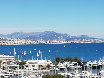 Photo for T2 Marina Baie des Anges - stunning sea view