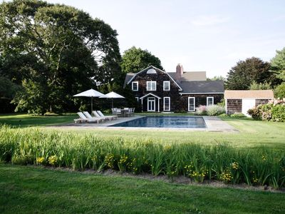 Photo for Quogue Beach House Luxury - Hamptons 4BR w/ Private Pool