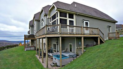Photo for 602 Overlook Pass Road, #2C- Ski Area Townhome with Stunning Lake Views