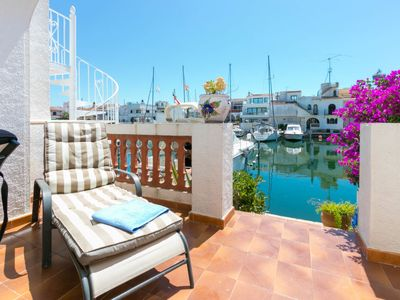 Photo for Vacation home Port Argonautes in Empuriabrava - 5 persons, 3 bedrooms