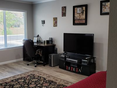 Photo for Close to airport and ASU*modern cinema themed apartment*