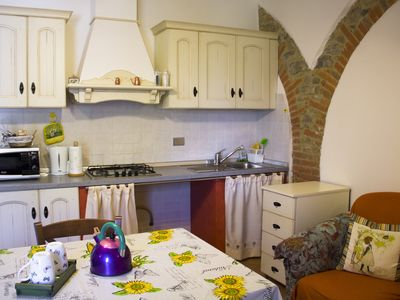 Photo for Nice apartment for two in the green countryside of Perugia