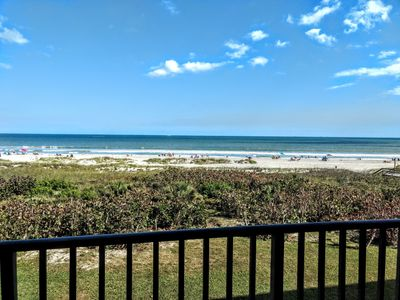 Photo for Double Balcony, Ocean Front Condo at Cape Winds in Cape Canaveral