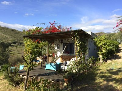 Photo for Finca Shambala, 4 Bedroom House, Own Pool Close To Cartama, Inland Costa Del So