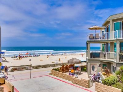 Photo for Ocean Front Building ☆ Water Views ☆ 2 Patios