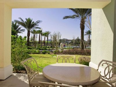 Photo for 3-bedroom luxury Reunion Resort vacation condo with private patio