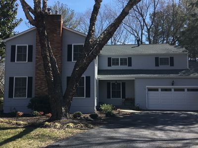 Photo for Gorgeous 5BR 3.5 FB home-2.5 miles to USNA-avail Commission Wk 2019&2021