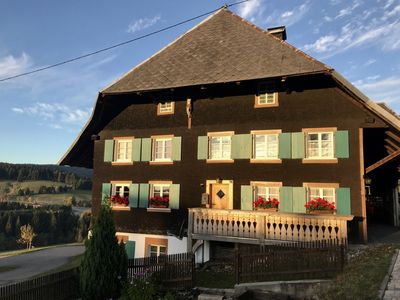 Photo for Holidays in the listed Schwarzwaldhof in the beautiful Bernau high valley