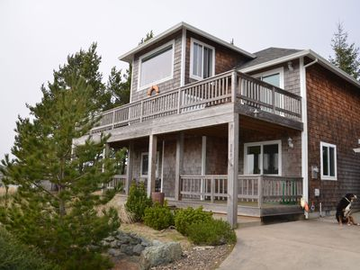 Photo for Enjoy Beautiful Ocean and Mt Views in Manzanita! Private, Secluded Hot Tub!
