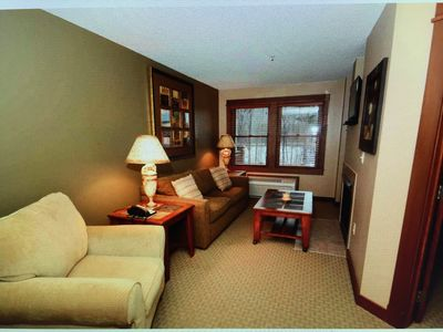Photo for Lake Front 1st Floor Walk Out Luxury Condo w/ Private Deck