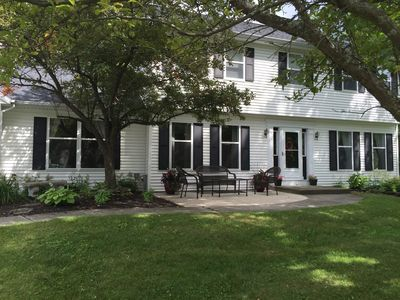 Photo for Large renovated house w/ pool. Close to track, downtown Saratoga and SPAC.