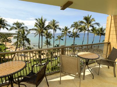 Photo for Stunning Mana Kai Maui 2 Bedroom Oceanfront Condo! - Special Discounted Rates!