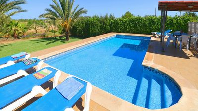 Photo for Casa Angelica - Large Countryside Villa with Private Pool just 10 minutes from some of the Best Beaches in Mallorca! - Free WiFi