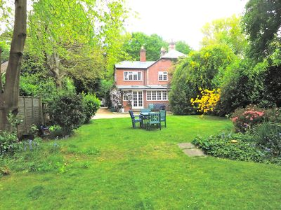 Photo for 4 bedroom Cottage in large private garden off single track lane.
