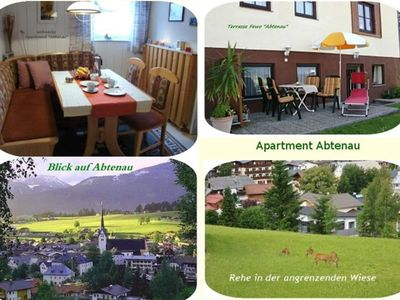 """Photo for Appartment """"Abtenau"""" / 2 bedrooms / shower, WC No. 1 - three, apartment"""