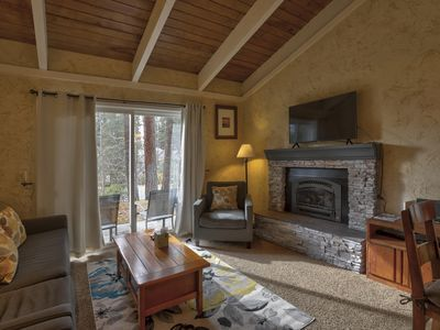 Photo for Cozy One Level condo near lake, casinos, & skiing