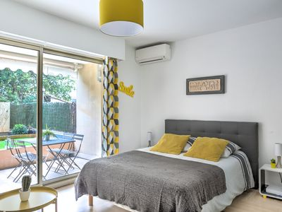 Photo for IMMOGROOM- 3*** EXCLUSIVE -Terrace-10min from beaches- A∕C-CONGRESS/BEACHES