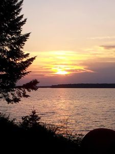 Sunset photo by our guest Judy Speckman