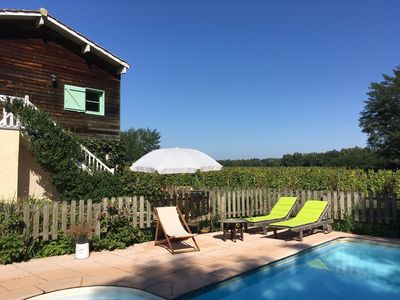 Photo for Bed & Breakfast with pool and dinners in the Bordeaux wine district