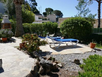 Photo for Beautiful renovated apartment near the beach of Sta. Maria de Llorell.