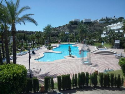 Photo for Apartment with WIFI and Pool, close to the Playa del Lance, Mojacar Playa