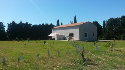 Photo for INDEPENDENT VILLA in DOMAINE Agricole Bio