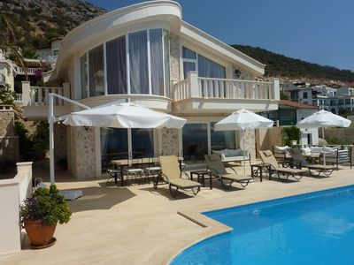 Photo for 4 Bedroom Villa in the prestigious Komurluk area with private infinity pool