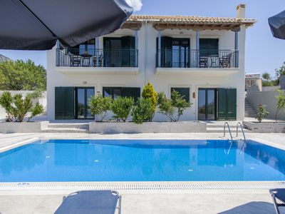 Photo for Beautiful Villa Endless Blue With Private Pool Ideal for Families