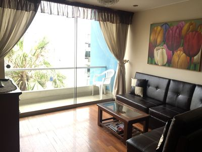 Photo for Furnished Equipped,WI-FI, well located apt for rent in Miraflores