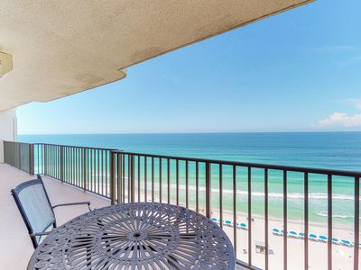Photo for NEW LISTING! Tranquil beachfront getaway w/ocean view & shared pool