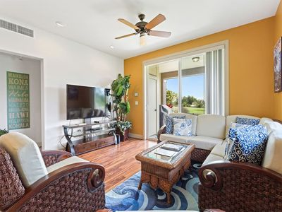 Photo for Ground Floor Ease w/Lanai, Gourmet Kitchen, Laundry, AC+WiFi–Halii Kai Waikoloa 3H