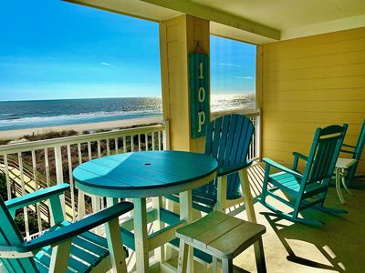 Photo for 3BR Oceanfront Condo; Heart of IOP; Additional Condos available