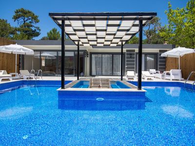 Photo for Stylish Secluded Two Bedroom Honeymoon Villa Vade with Outdoor and Indoor Pools