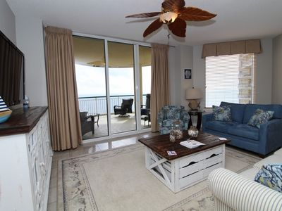 Photo for Beach Colony East Penthouse 15C-Beach Front unit with amazing views!