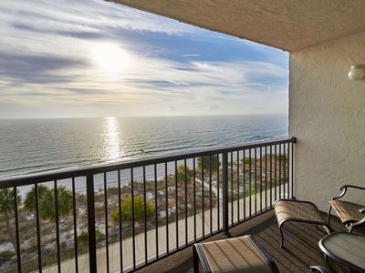Photo for Direct Gulf Front unit that offers Sunsets you will never forget!