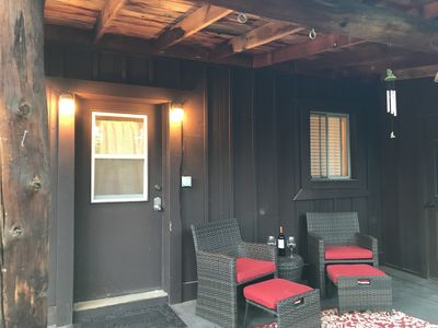 Sit and Relax  in the cozy front porch