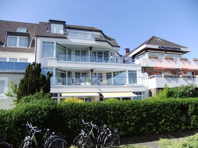 Photo for Comfortable apartment in a prime location on Norderney with terrace facing south