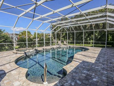 Photo for canal-front, private home with heated pool and spa just recently fully upgraded