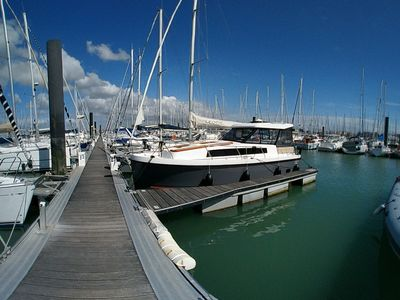Photo for Your holidays otherwise - Rental Boat dock - Beach at 100m