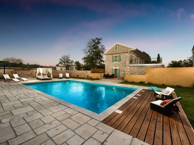 Photo for 5***** Villa, POOL 10×6m, Tennis court, Sauna, jacuzzi