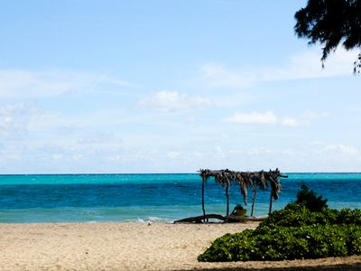 Photo for Tropical Beachside Cottage~5 miles of White Sand & Turquoise Sea