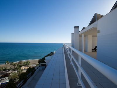 Photo for Luxury apartment in Marbella center. Less 1 minute walking from the beach