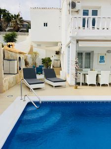Photo for 3 bedroom Villa with Private Pool and Sea Views